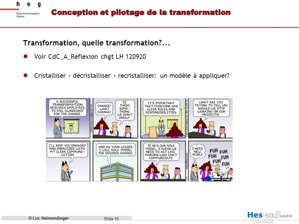 Slide 11 - In an organizational context, a process of profound and radical change that orients an organization in a new direction and takes it to an entirely different level of effectiveness.