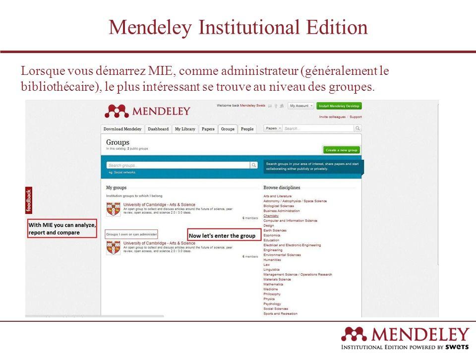 Après avoir cliqué sur le nom du Groupe, vous arrivez sur une page et vous voyez les principaux membres de votre institution.