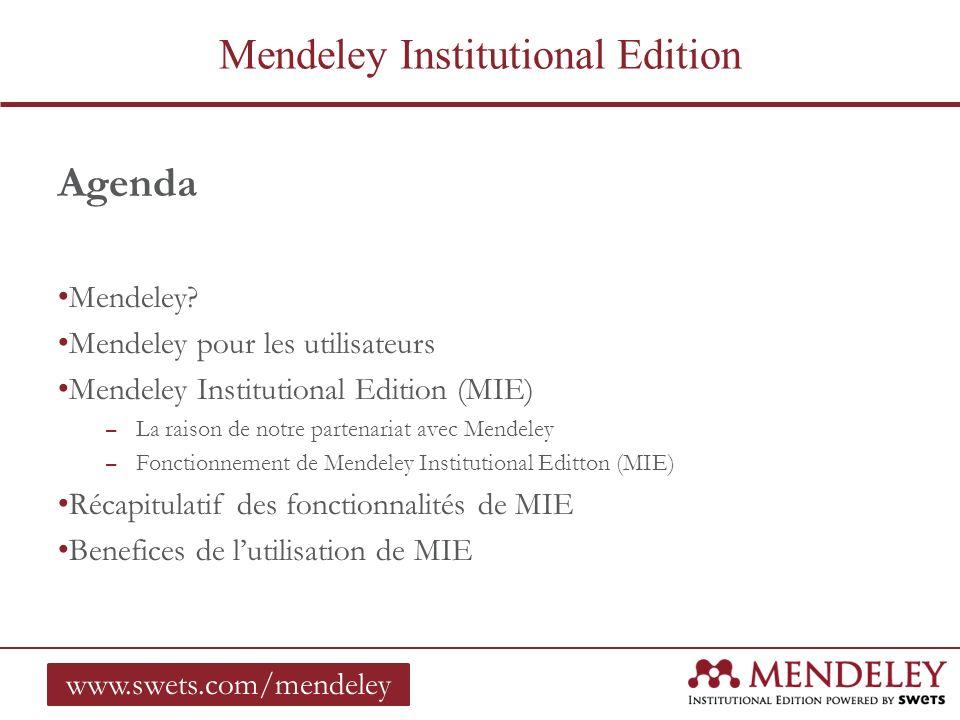 Mendeley.Mendeley a été créé il y a 4 ans par 3 doctorants.