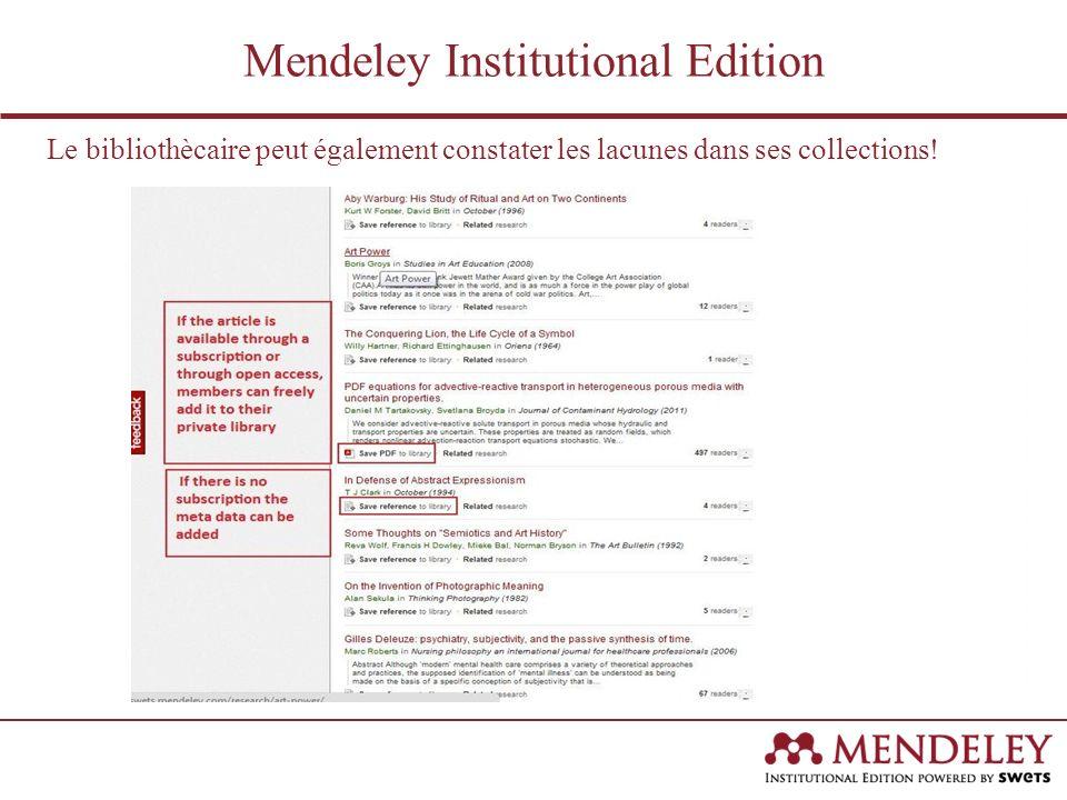 Par ailleurs, vous pouvez voir dans quelles revues vos chercheurs et scientifiques ont publié leurs articles.