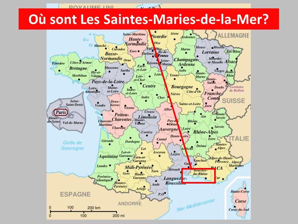 Les Saintes-Maries-de-la-Mer Capitale de la Camargue
