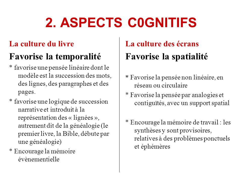 La culture du livre * Exclue les contraires : cest une pensée du « ou bien, ou bien ».