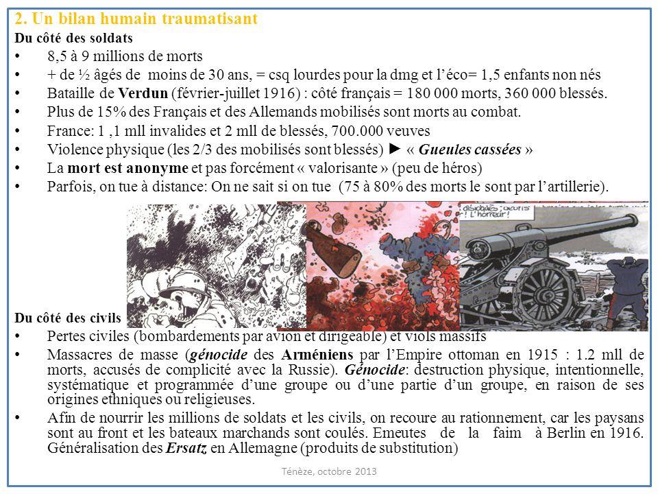 Les Gueules cassées: un aspect de la « brutalisation des masses » (Georges Mosse) Ténèze, octobre 2013