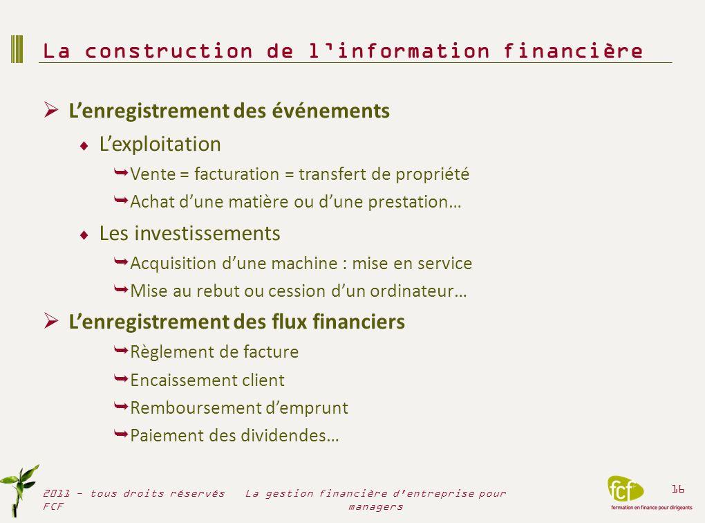 « Les comptes » sociaux dune société, la liasse fiscale 1 liasse fiscale par structure juridique « sociale » Bilan + Compte de résultat + annexes (=détails) Exercice fiscal : 12 mois Date de clôture : 31/12 .