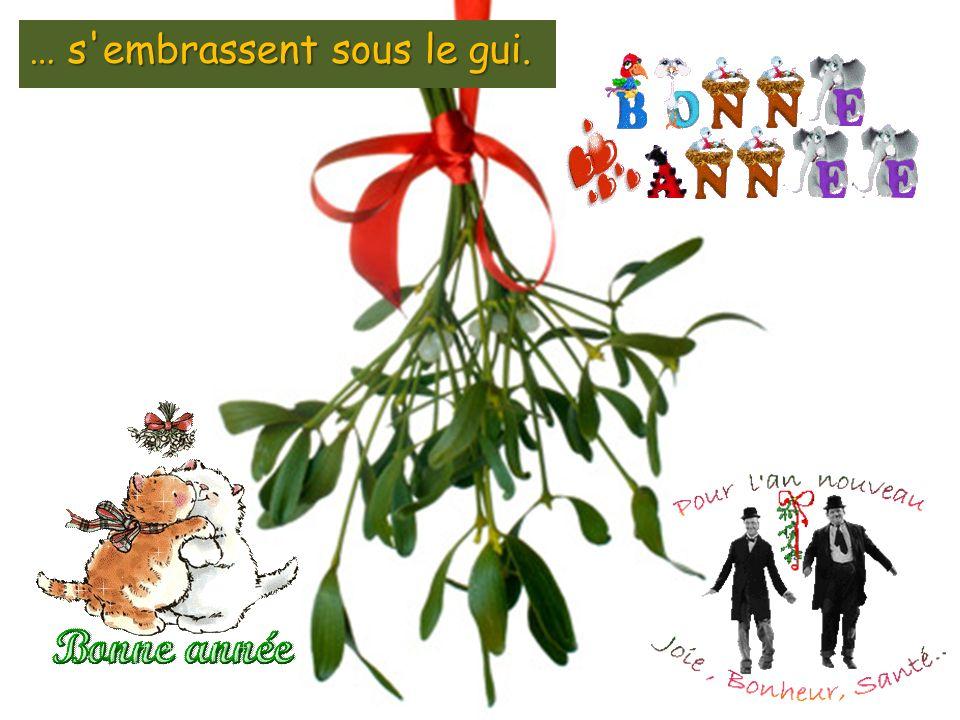 Le jour de l an, les familles et les amis échangent les vœux du nouvel An, prennent de bonnes résolutions et parfois échangent quelques cadeaux (les étrennes).