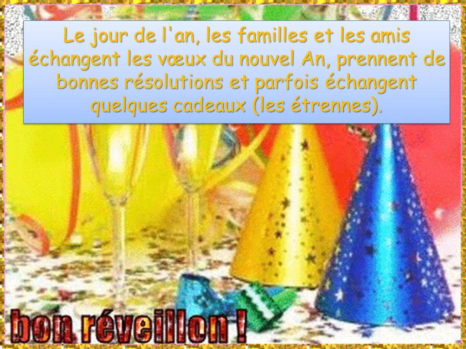 En France, pendant tout le mois de janvier, on souhaite une bonne bonne bonne annéeannée année annéeet une bonne santé à sa famille, à ses amis, à ses voisins.