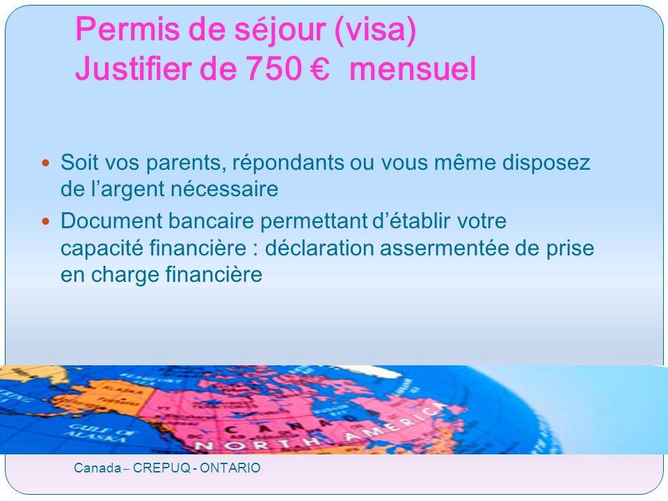 Aides financières cf réunions spécifiques Canada – CREPUQ - ONTARIO Bourse de la Région Rhône-Alpes (EXPLORA) CREPUQ prioritaire : bourse automatique si critères satisfaits Bac + 2 à Bac + 5 1 année en Rhône-Alpes Ne jamais en avoir bénéficié Séjour entre 4 et 9 mois 380 par mois.