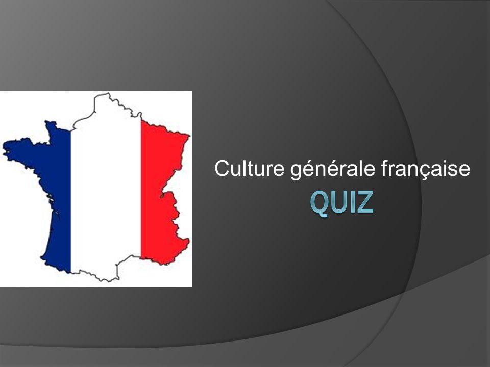 1) Nomme trois sortes de fromages français.