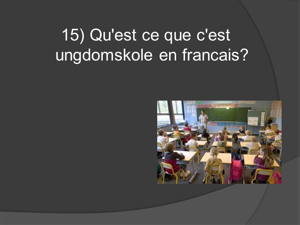 16) Quelle marque française a pour slogan parce que je le vaux bien ?
