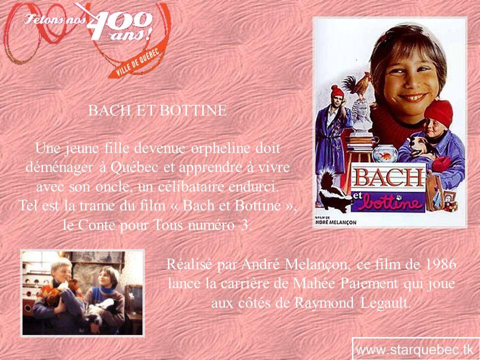 MA VIE EN CINÉMASCOPE En 2004, « Ma vie en cinémascope », réalisé par Denise Filiatrault et mettant en vedette Pascale Bussières, raconte le destin tragique dAlys Robi, une petite fille de Québec qui a fait honneur à sa ville natale.