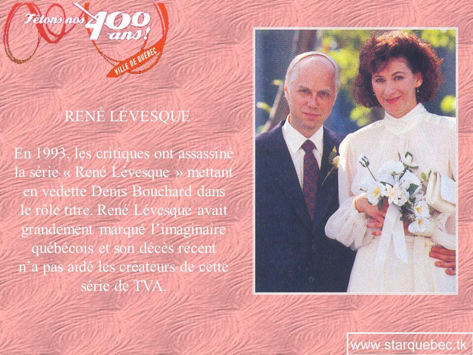 En 2006, Radio-Canada récidive en créant une nouvelle série sur René Lévesque.