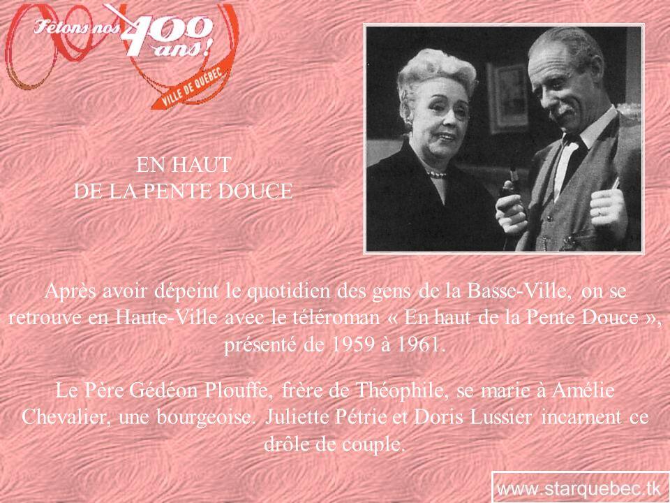 LE PETIT MONDE DU PÈRE GÉDÉON En 1962-1963, la trilogie télévisuelle de Roger Lemelin est complétée avec « Le petit monde du Père Gédéon ».