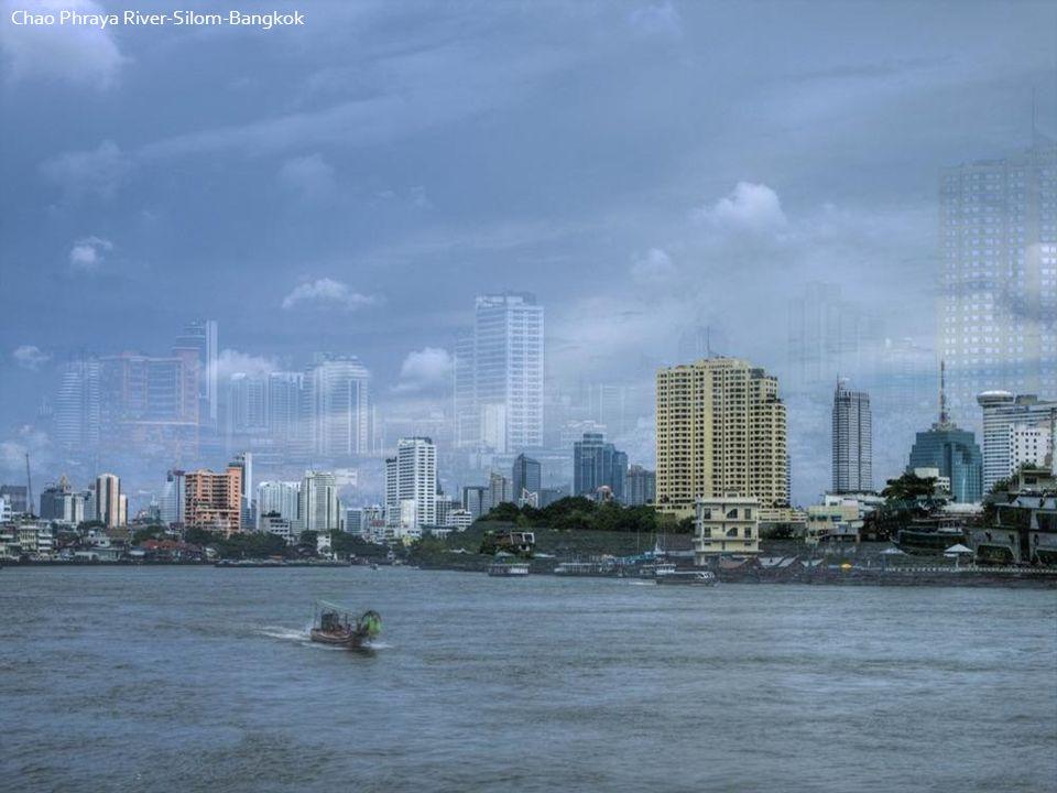 Chao Phraya River-Silom-Bangkok