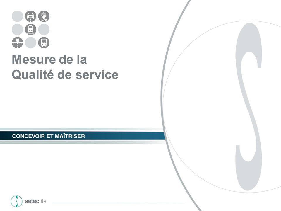 GART - Le SAEIV, outil de mesure de la qualité de service 05 mars 2013 - 15 - Le SAEIV outil de mesure Le SAE est loutil de mesure : De la production km commerciaux, HLP, ateliers,...
