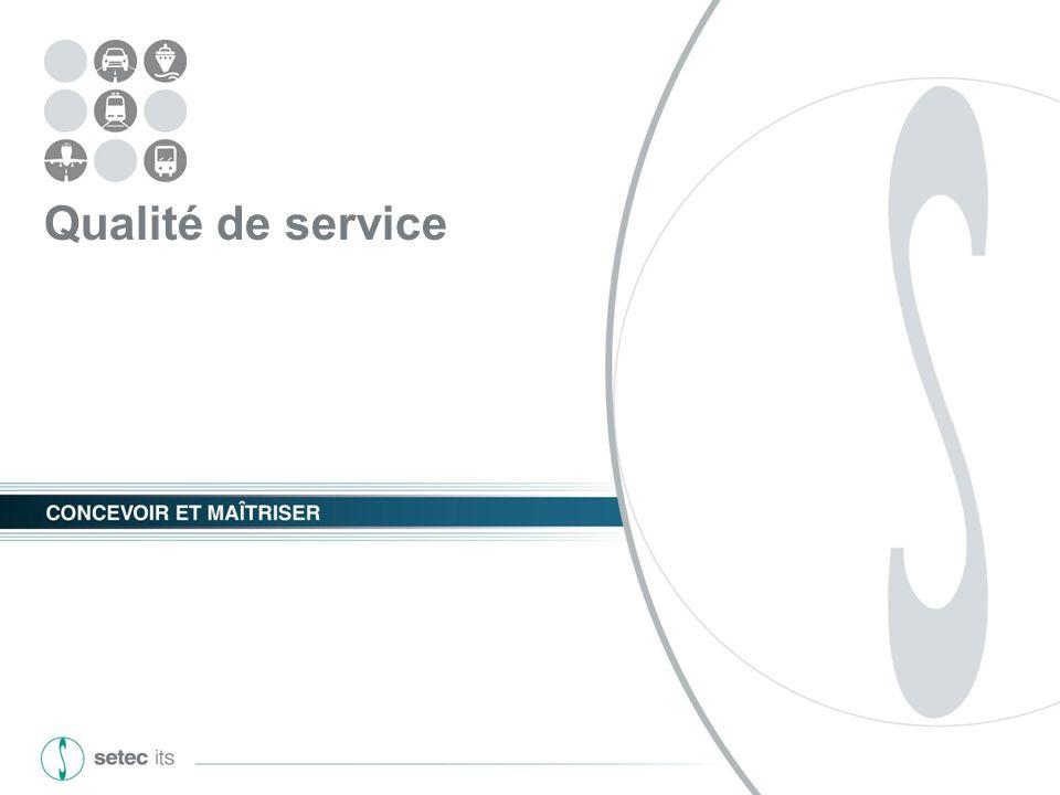 GART - Le SAEIV, outil de mesure de la qualité de service 05 mars 2013 - 7 - Qualité de service La qualité de service est mesurée par un ensemble dindicateurs permettant de représenter la performance du réseau de transport au regard de ses fonctions Définition