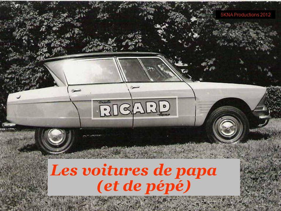 (et de pépé) Les voitures de papa 5KNA Productions 2012