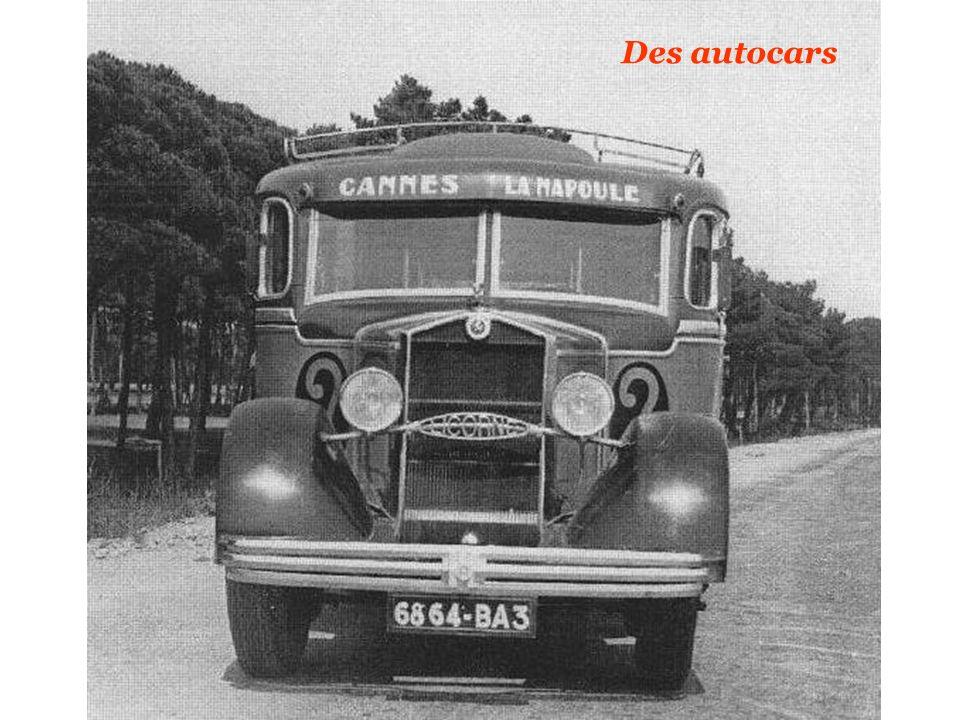 Des autocars