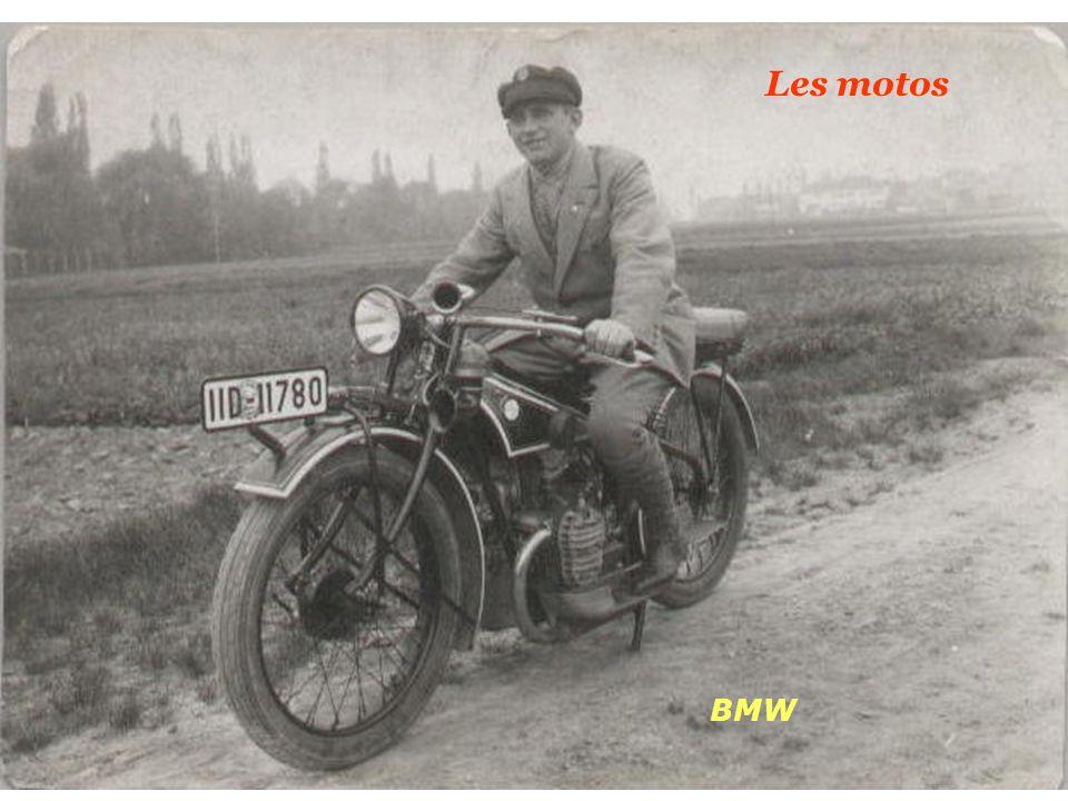Les motos BMW