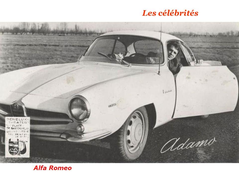 Les célébrités Alfa Romeo