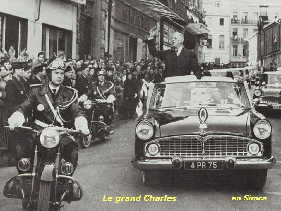 Le grand Charles en Simca