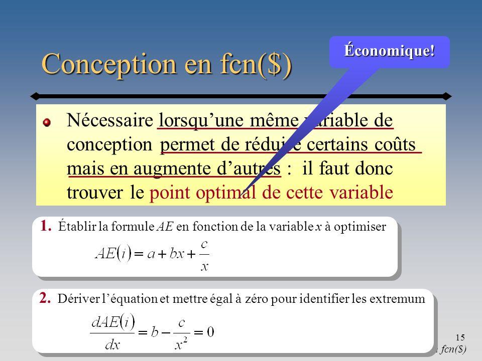 Chapitre 616 Conception en fcn($) conception en fcn($) 3.
