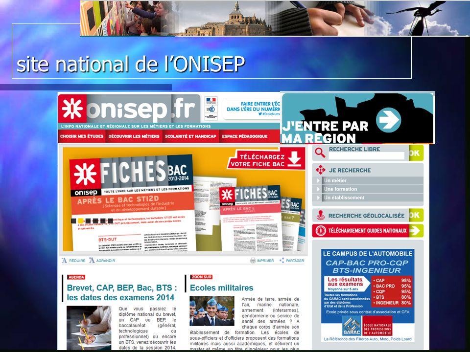 le site Basse Normandie / ONISEP