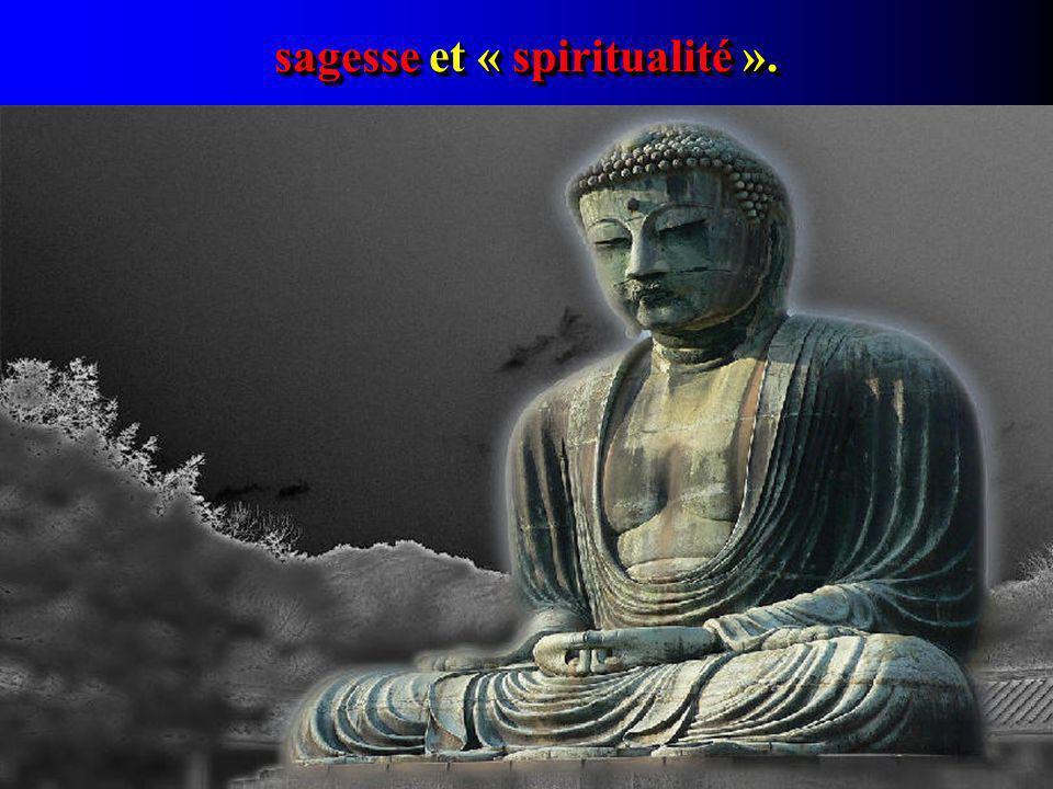sagesse et « spiritualité ».
