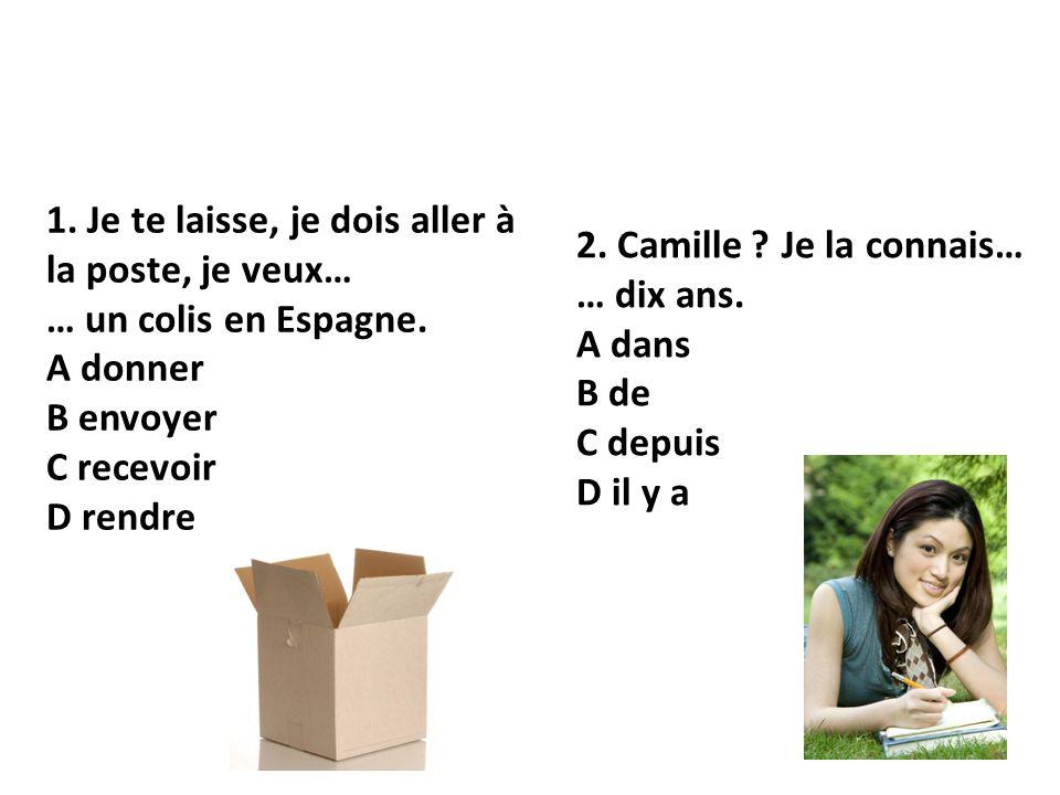 1.Lola… … Florian discutent. A à B de C et D chez 2.