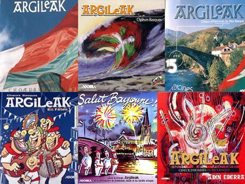 Nos CD depuis 1983 Distribués par Agorila Bayonne
