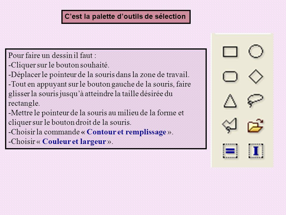 5) Enregistrement dun dessin Activité: Daprès cette figure, citer les étapes à suivre pour enregistrer un dessin.