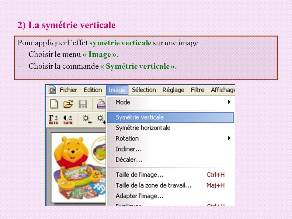 Activité -Lancer le logiciel « PhotoFiltre ».-Ouvrir limage1 se trouvant dans C:\ image.