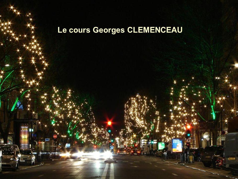 Le cours Georges CLEMENCEAU