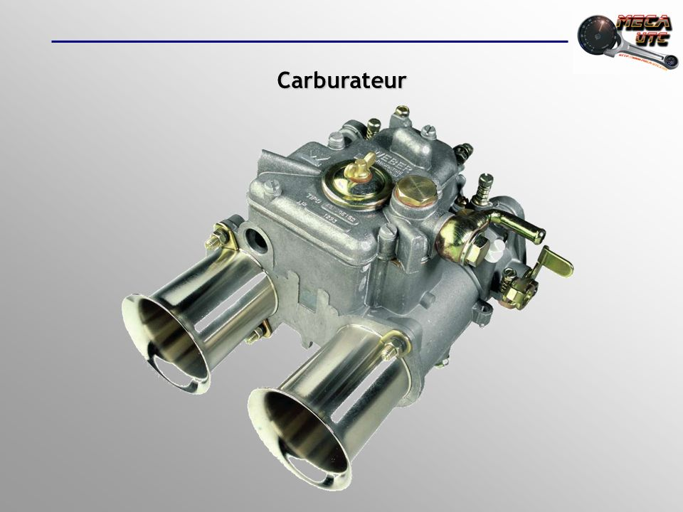 SOMMAIRE Introduction Introduction Rapport air carburant (A/C) Rapport air carburant (A/C) Les nécessités du moteur Les nécessités du moteur Fonctionnement de base du carburateur Fonctionnement de base du carburateur Les dispositifs doptimisation Les dispositifs doptimisation Dautres types de carburateurs Dautres types de carburateurs Lalimentation par carburateur Lalimentation par carburateur
