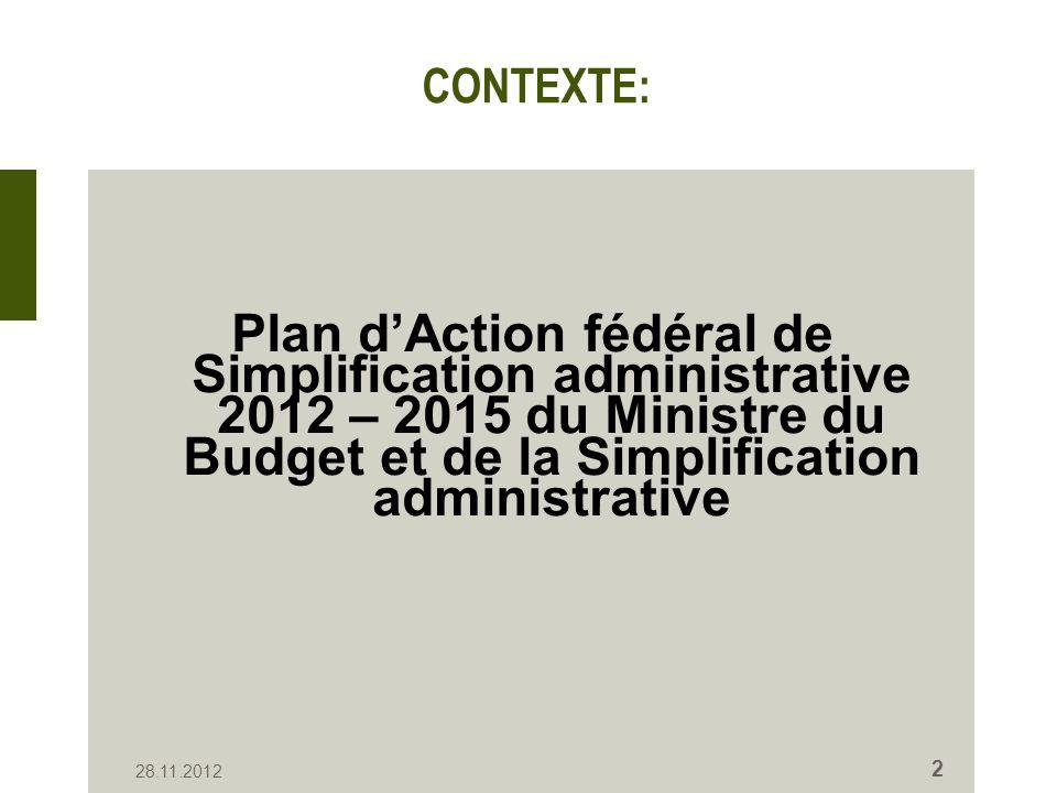 Propositions Pour le Département de lIntérieur, plusieurs propositions ont été formulées, parmi lesquelles certaines concernent la Direction générale Institutions et Population.