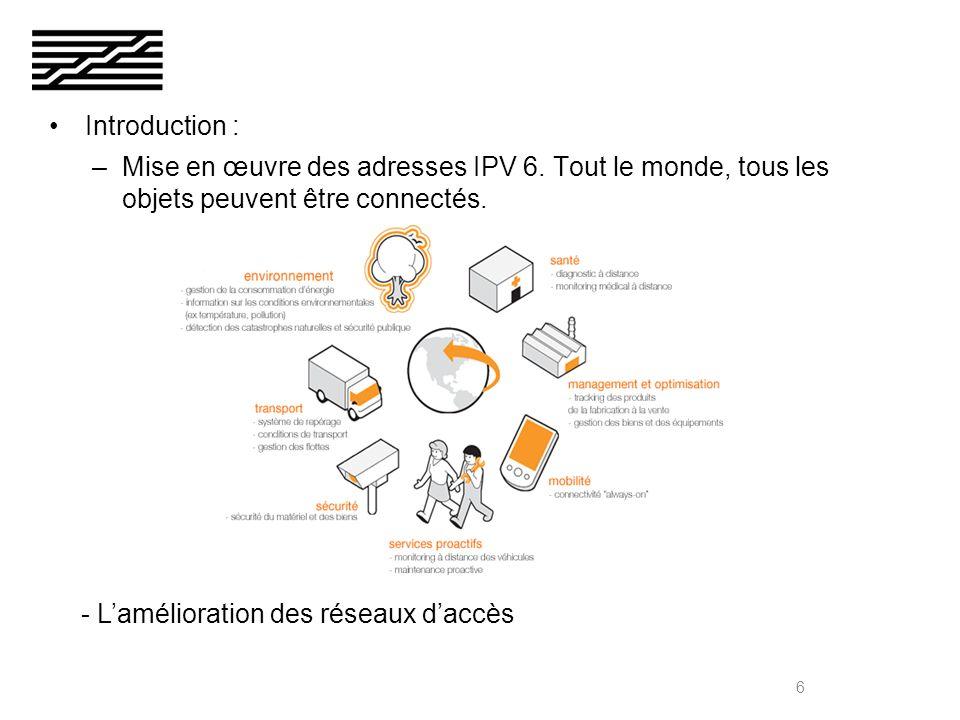 Internet des objets (RFID et géolocalisation) Internet des contenus (réalité augmentée et 3D) Internet des usages (travail collaboratif et réseaux sociaux) 7