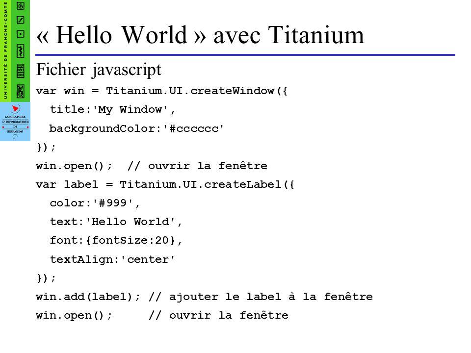 Jquery Mobile Framework qui fonctionne sur toutes les plate-formes mobiles actuelles Utilise une bibliothèque javascript pour créer des sites web adaptés aux smartphones et tablettes.