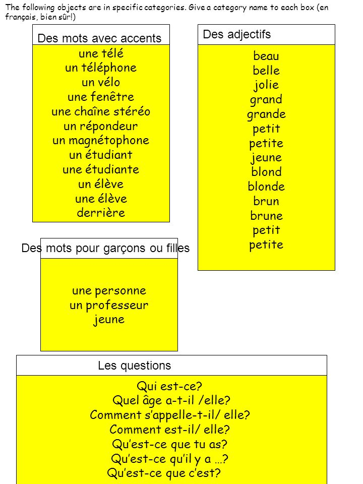 Answer each question in a complete French sentence, using the picture below.