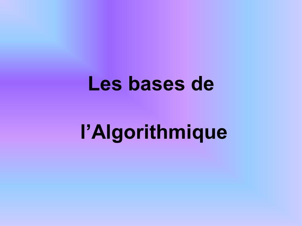 Introduction Quest-ce quun algorithme .