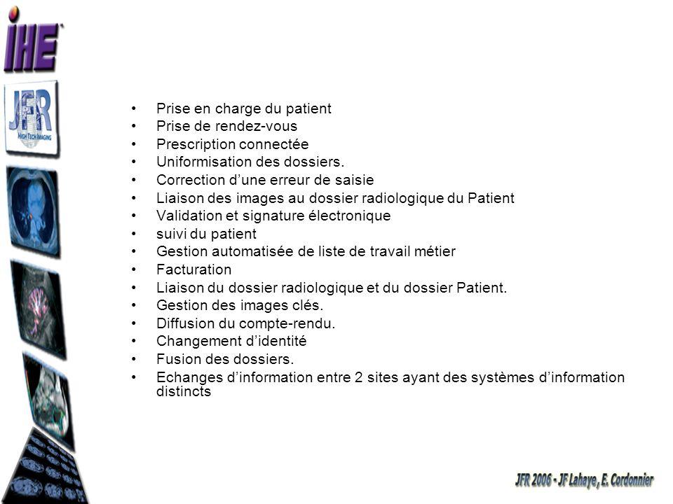 Chaque information produite constitue un élément important sinon essentiel du dossier patient.