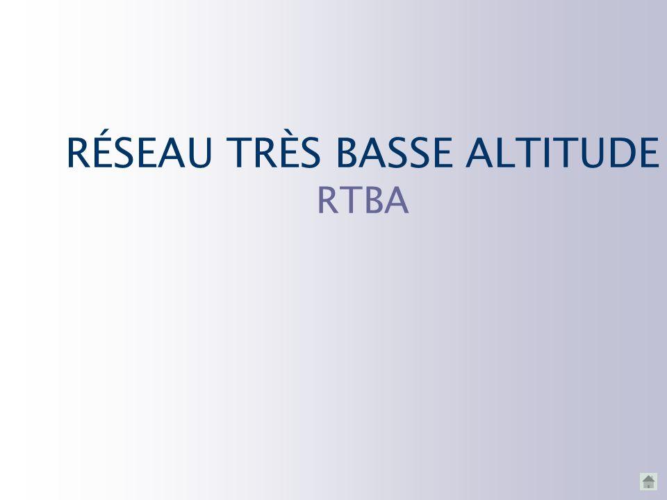 RÉSEAU TRÈS BASSE ALTITUDE RTBA