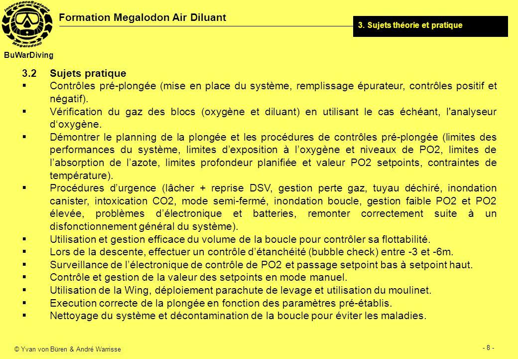 © Yvan von Büren & André Warrisse - 9 - Formation Megalodon Air Diluant BuWarDiving 3.