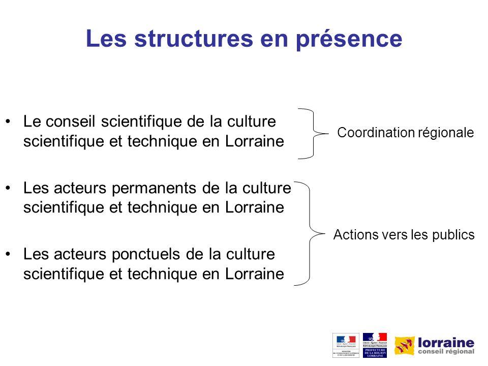 La coordination du réseau Le CS-CSTL est chargé de la coordination du réseau régional de culture scientifique et technique.