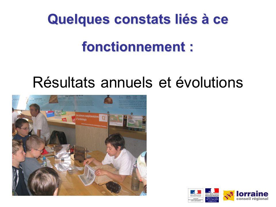 Epinal Metz Nancy Bar-le-Duc Actions de CSTI en Lorraine en 2007 Actions ponctuelles Actions permanentes Grand Nancy