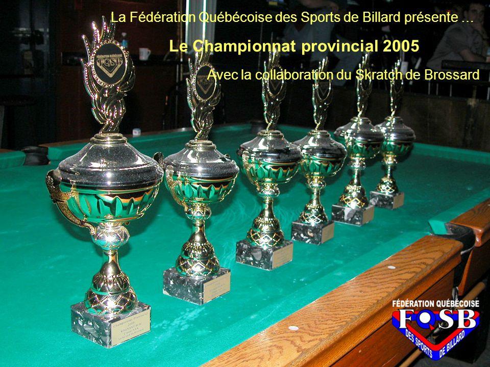 Le Championnat Provincial 2005 accueilla cette année 285 participants.