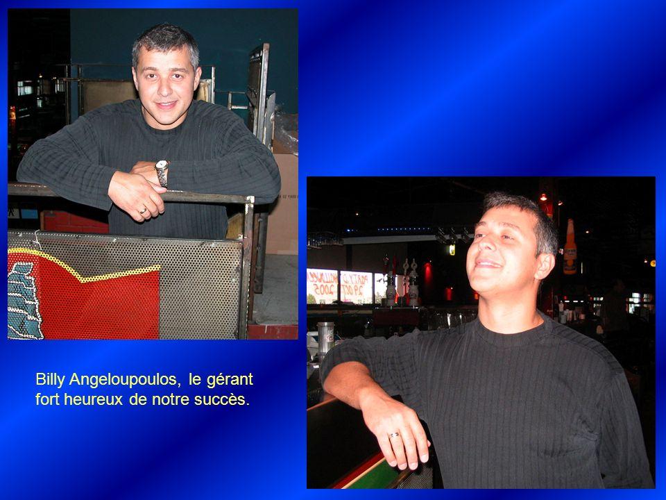 Étienne Briand et Pascale Castonguay, une gérante de soir attentionnée