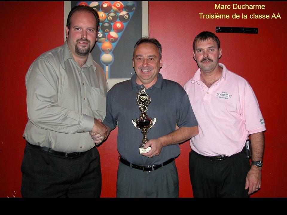 Patrick Galarneau Gagnant de la classe AAA