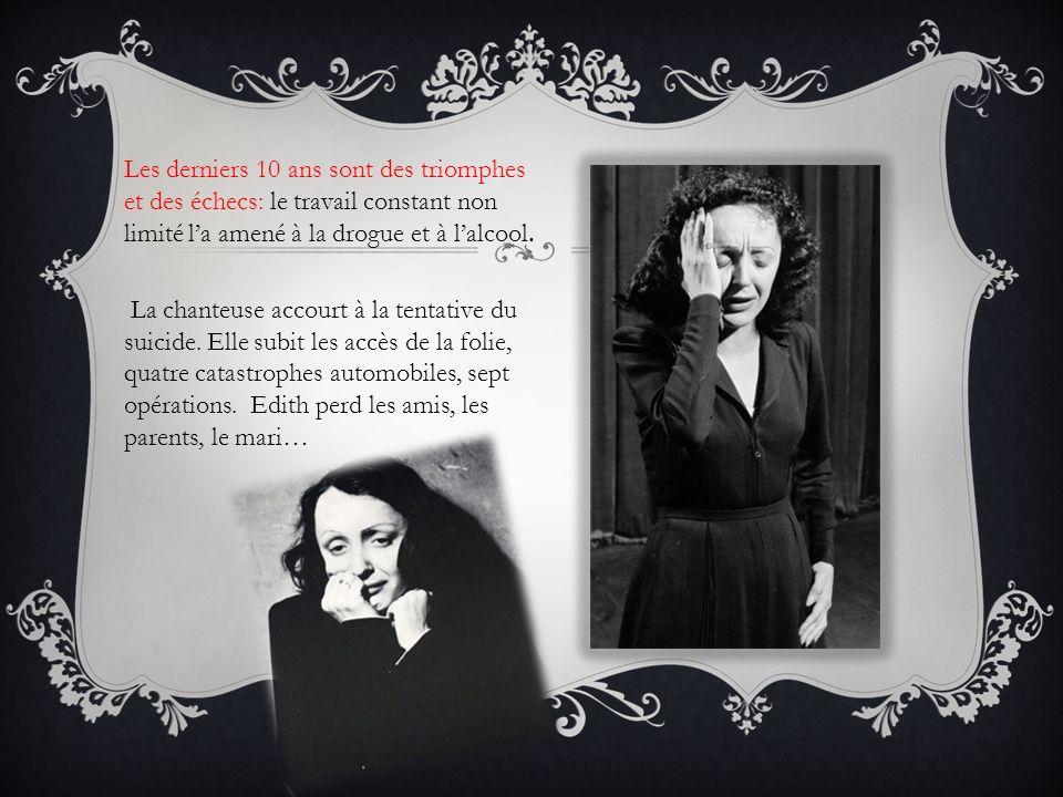 Mais en 1962 Edith Piaf rencontre un nouveau amour qui la sauve: Théo Carapo, un jeune et beau chanteur âgé de 26 ans.