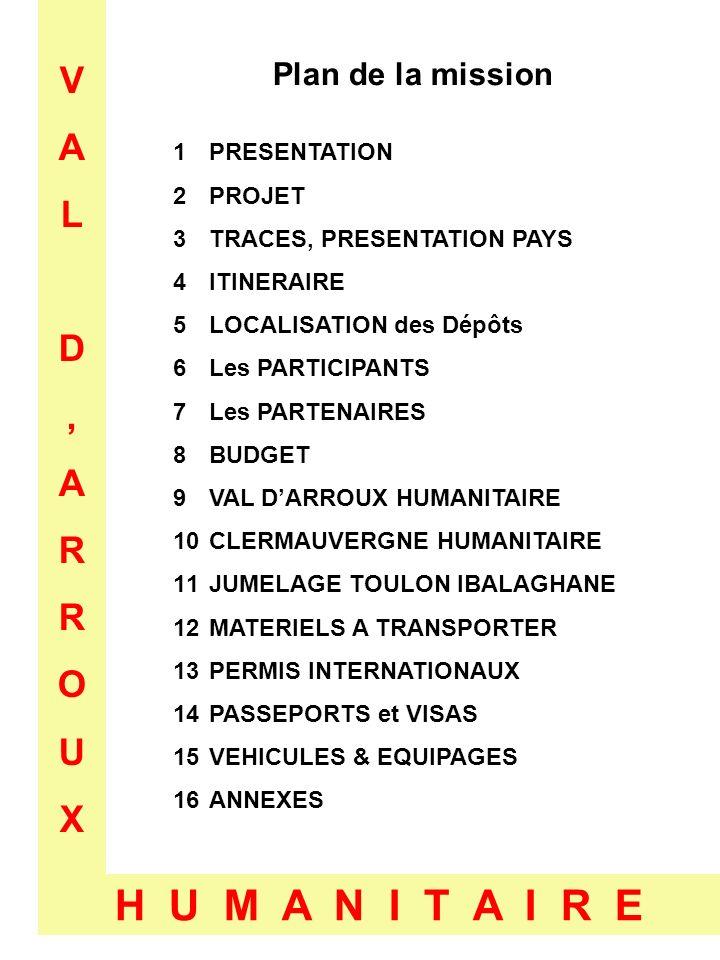 VALD,ARROUXVALD,ARROUX H U M A N I T A I R E 1- Présentation Préparation dune mission pour lassociation « VAL DARROUX HUMANITAIRE » La toute nouvelle association toulonnaise « VAL dARROUX HUMANITAIRE » a décidé de préparer une première mission au Mali.