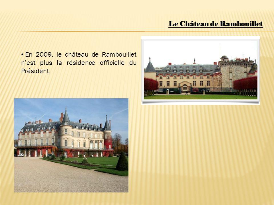 Le Château de Rambouillet SI VOUS ALLEZ EN FRANCE, N OUBLIEZ PAS DE VISITER LE CHÂTEAU DE RAMBOUILLET.