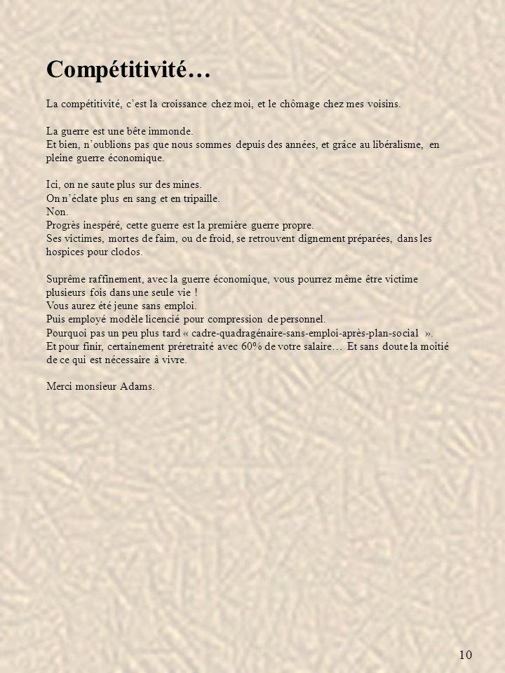 11 Conjonction… Il est une vieille famille dans notre langue française qui me fut très tôt sympathique.